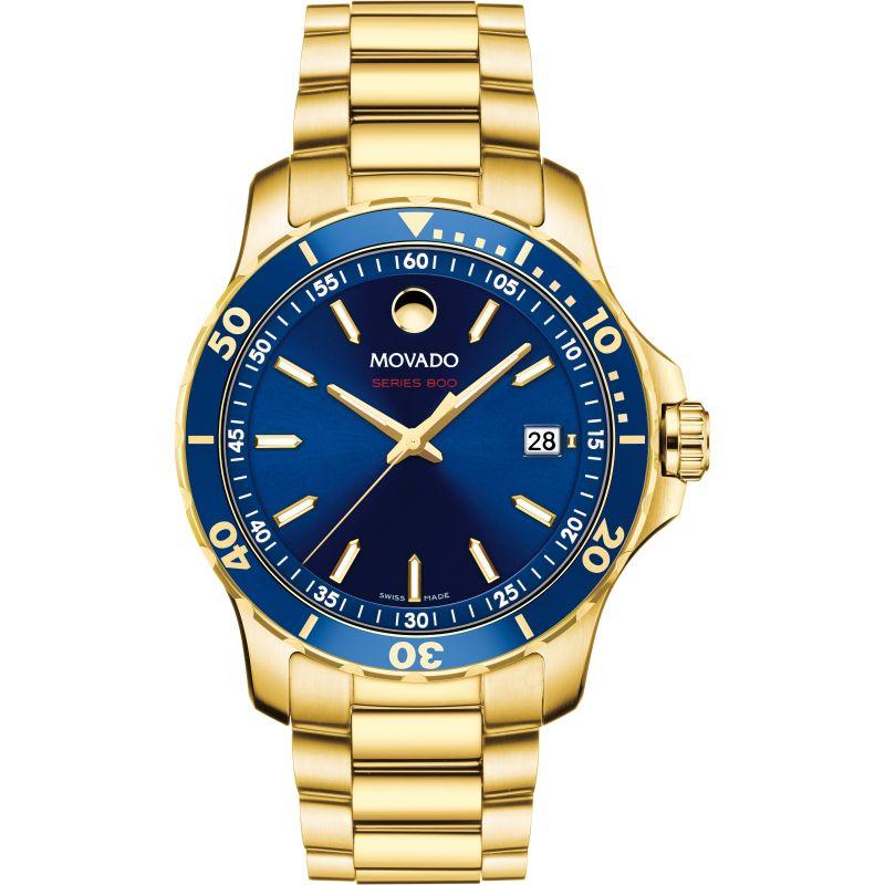 Mens Movado Series 800 Watch