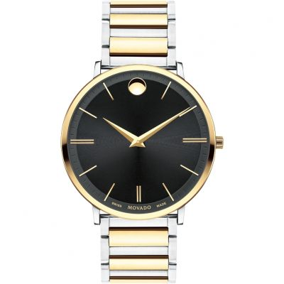 Movado Ultra Slim Herenhorloge Tweetonig 0607169