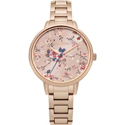 Ladies Cath Kidston Trailing Rose Watch CKL038RGM