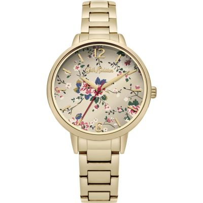 Cath Kidston Trailing Rose Damenuhr in Gold CKL038GM