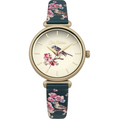 Ladies Cath Kidston Scattered Meadowfield Birds Watch CKL041NG