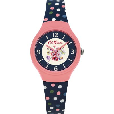 Ladies Cath Kidston Mallory Bunch Scattered Spot Watch CKL027UP