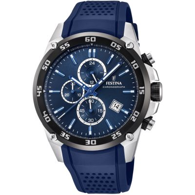Festina Originals - The Tour Of Britain 2017 Herrenchronograph in Blau F20330/2