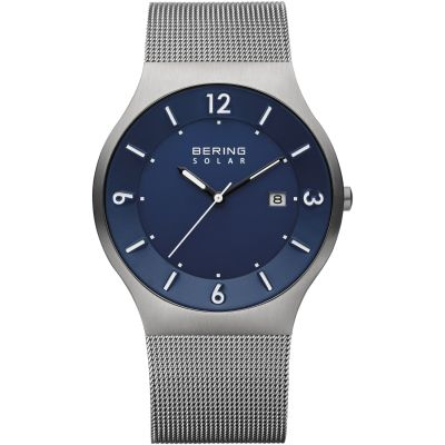Unisex Bering Slim Solar Solar Powered Watch 14440-007