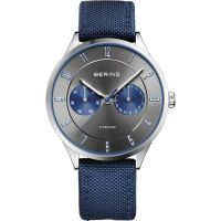 Mens Bering Ultra Light Titanium Titanium Watch 11539-873