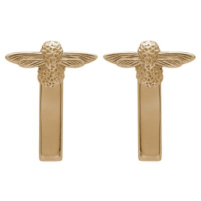 Biżuteria Olivia Burton Jewellery 3D Bee BAR Earrings OBJ16AME07