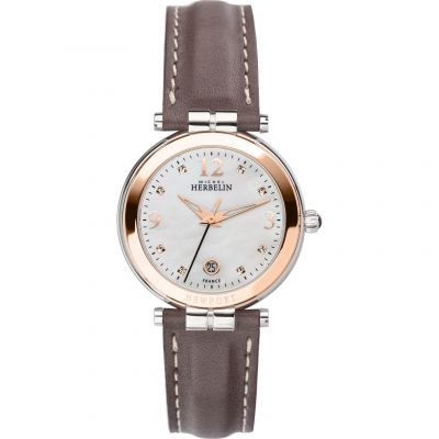Ladies Michel Herbelin Newport Watch 14264/TR59GR