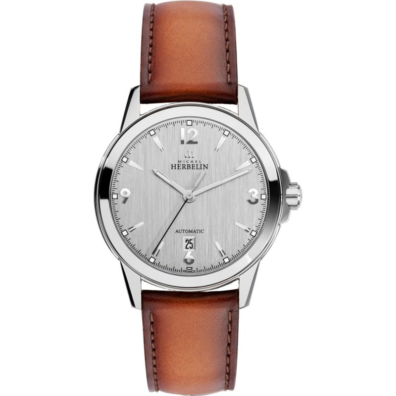 Mens Michel Herbelin Ambassador Automatic Watch