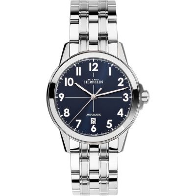 Mens Michel Herbelin Ambassador Automatic Watch 1650/B25