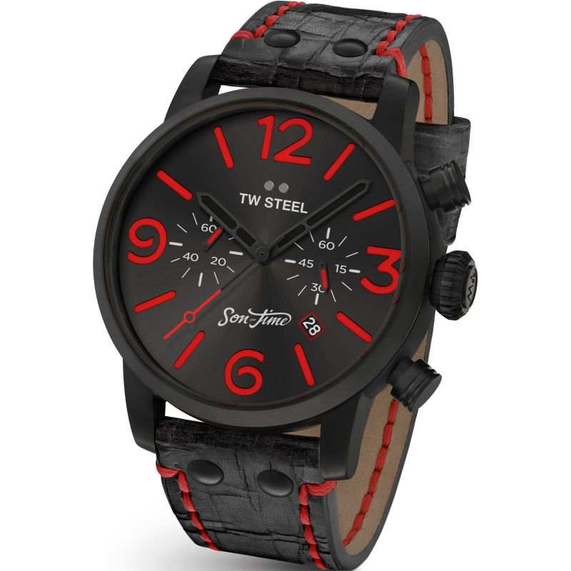 Mens TW Steel Son Of Time Desperado Special Edition Chronograph 45mm Watch
