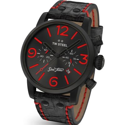 Mens TW Steel Son Of Time Desperado Special Edition Chronograph 45mm Watch MST13