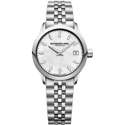 Raymond Weil Freelancer Damenuhr in Silber 5626-ST-97021