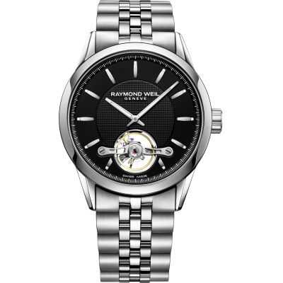 Raymond Weil Freelancer Manufacture RW1212 Herrenuhr in Silber 2780-ST-20001