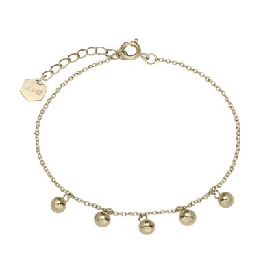 Ladies CLUSE Gold Plated Essentielle Orbs Chain ​Bracelet CLJ11011