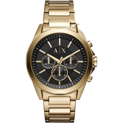Armani Exchange Herrenchronograph in Gold AX2611