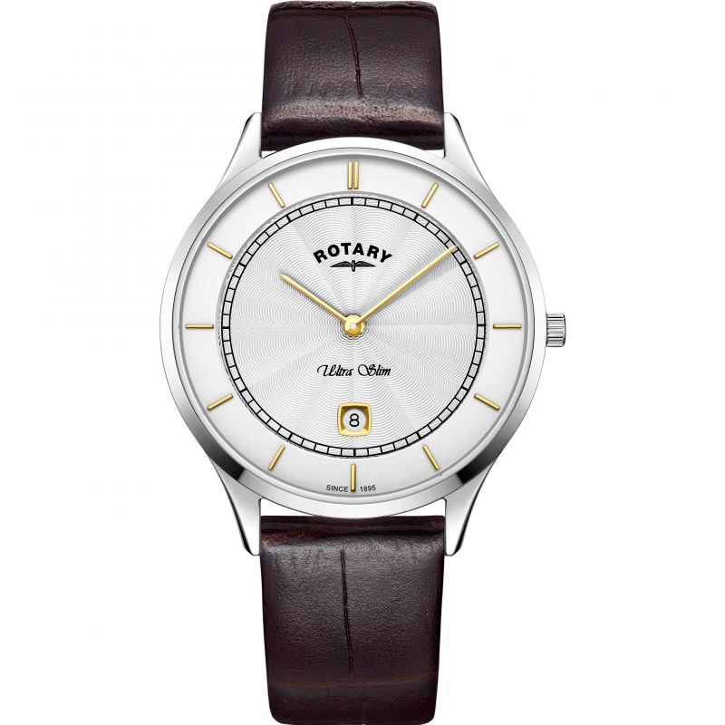 Mens Rotary Ultra Slim Watch GS08300/02