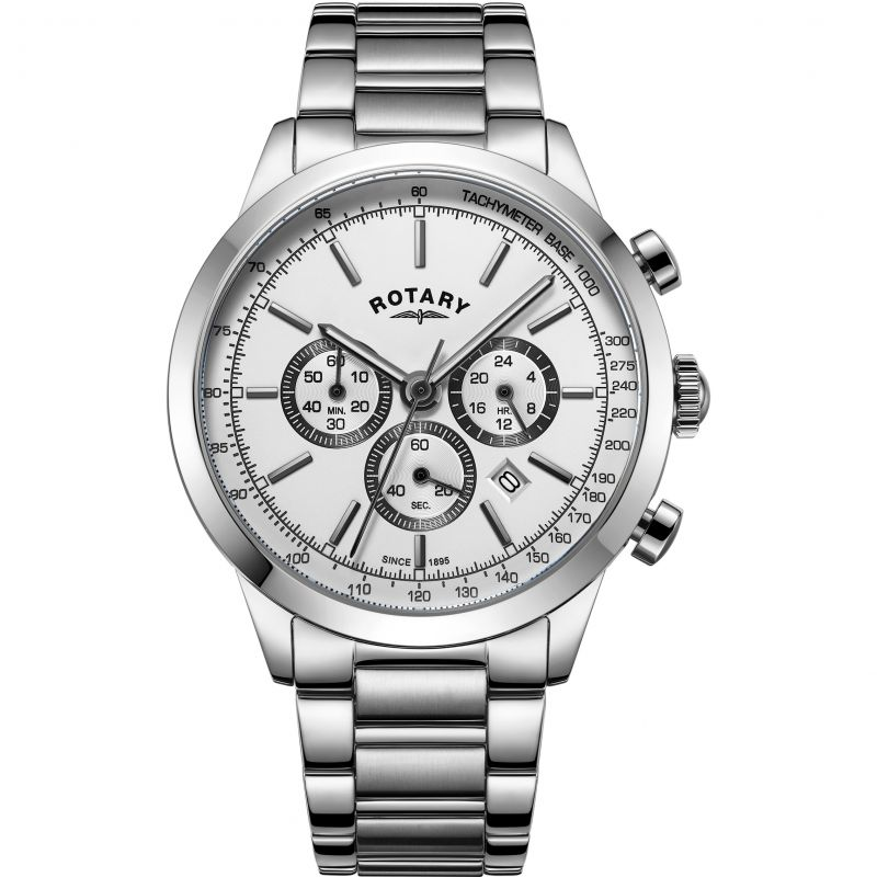 Mens Rotary Cambridge Chronograph Watch
