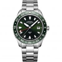 Mens Rotary Henley GMT Watch GB05108/24