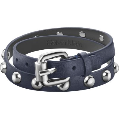 Gioielli da Calvin Klein Jewellery Adventurous Leather Bracelet KJ5NLB79040M