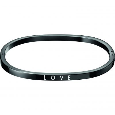 Joyería para Calvin Klein Jewellery Hook Love Bangle KJ06BD19010S