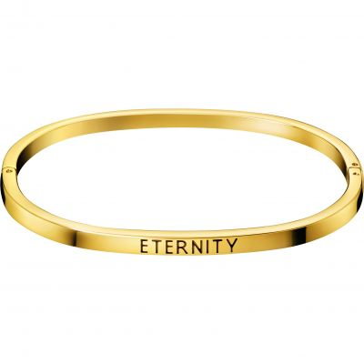 Joyería para Calvin Klein Jewellery Hook Eternity Bangle KJ06JD19020S