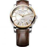 Mens Maurice Lacroix Pontos Day/Date 18ct Gold Automatic Watch