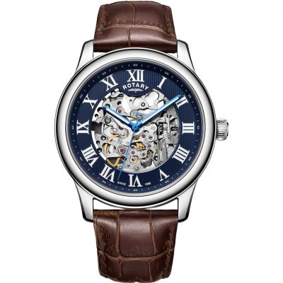 Mens Rotary Exclusive Skeleton Automatic Watch GS00625/05