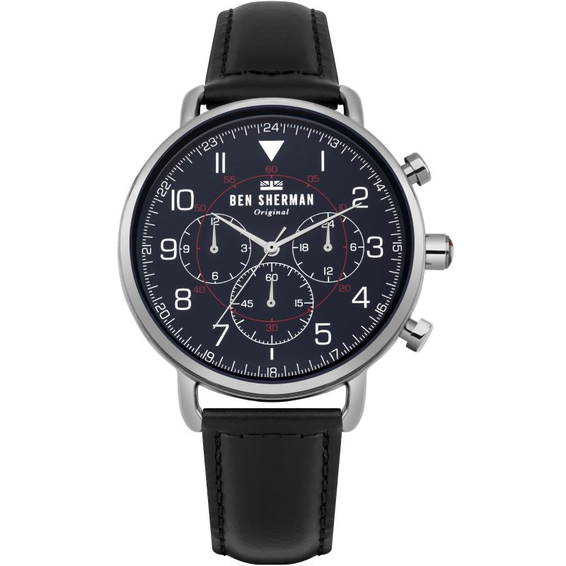 Mens Ben Sherman Portobello Military Chronograph Watch WB068UB
