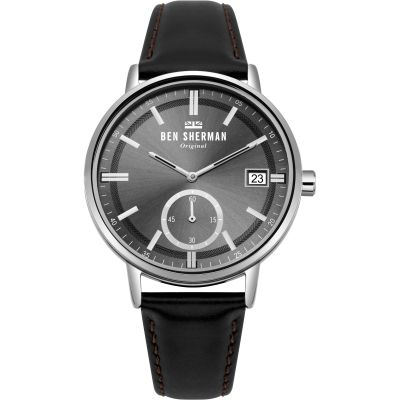 Ben Sherman Portobello Professional Herrenuhr in Braun WB071BB