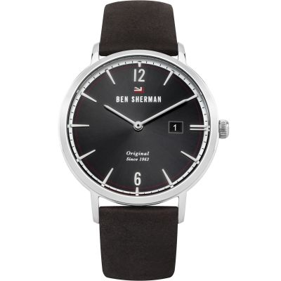 Ben Sherman The Dylan Social Herrenuhr in Schwarz WBS101BR