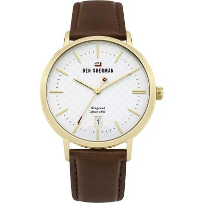 Ben Sherman The Dylan Heritage Herrenuhr in Braun WBS103TG