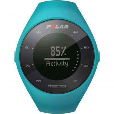 Polar M200 Bluetooth GPS Activity Tracker Heart Rate Monitor Unisexchronograph in Blau 90068273