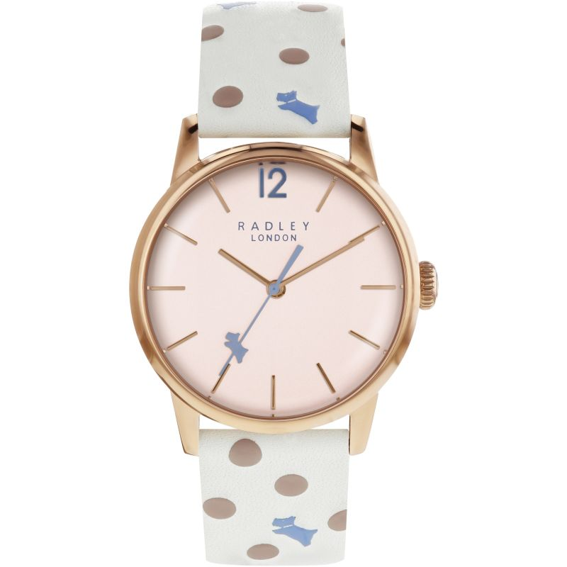 Ladies Radley Vintage Dog Dot Watch RY2566