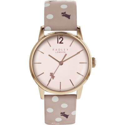 Ladies Radley Vintage Dog Dot Watch RY2568