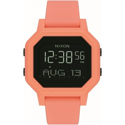 Unisex Nixon The Siren Alarm Chronograph Watch A1210-2876
