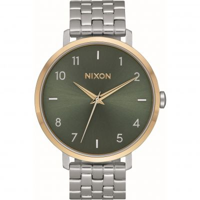 Nixon The Arrow Dameshorloge Zilver A1090-2877