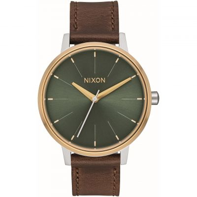 Ladies Nixon The Kensington Leather Watch A108-2877