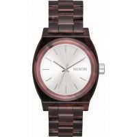 Unisex Nixon The Medium Time Teller Acetate x Mazzucchelli Watch