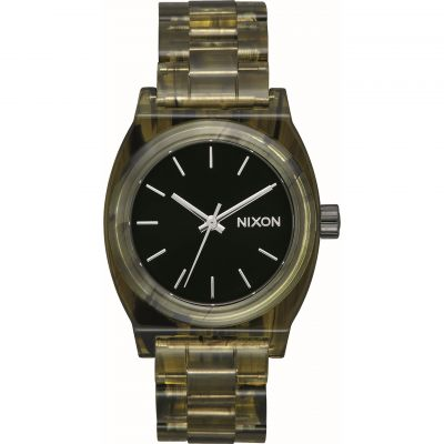 Nixon The Medium Time Teller Acetate x Mazzucchelli Unisexklocka Grön A1214-333