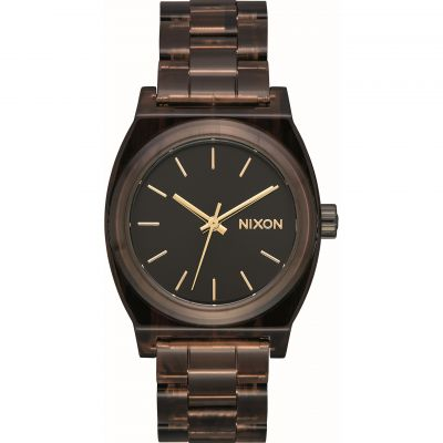 Nixon The Medium Time Teller Acetate x Mazzucchelli Unisexklocka Brun A1214-400