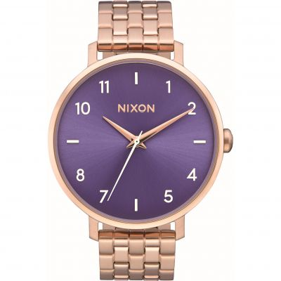 Nixon The Arrow Damenuhr in Rosa A1090-2952