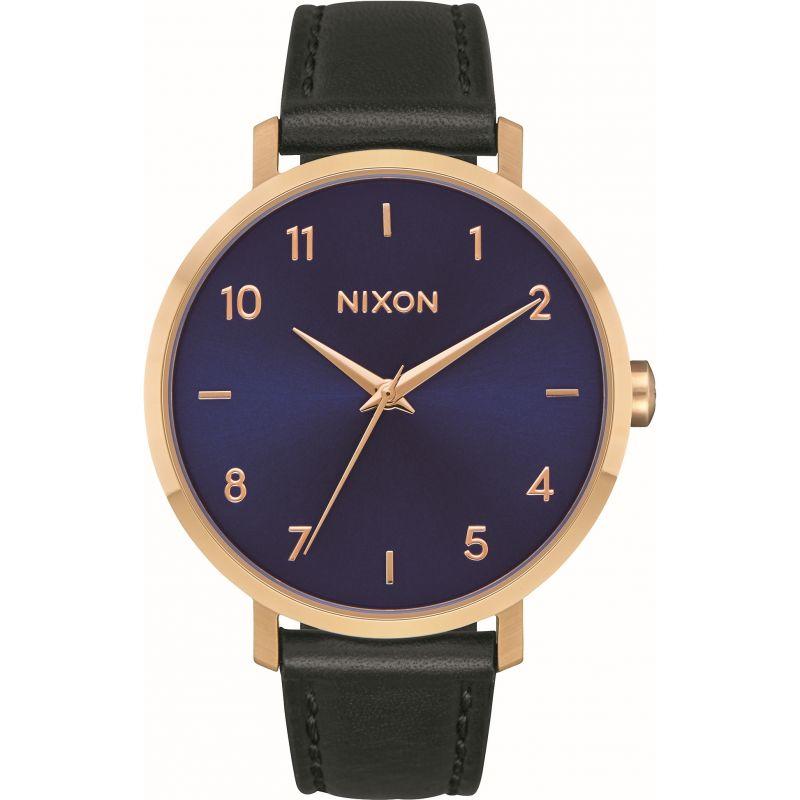 Ladies Nixon The Arrow Leather Gift Set Watch