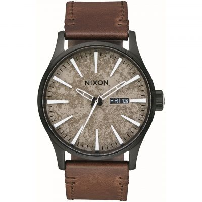 Montre Homme Nixon The Sentry Leather A105-2867