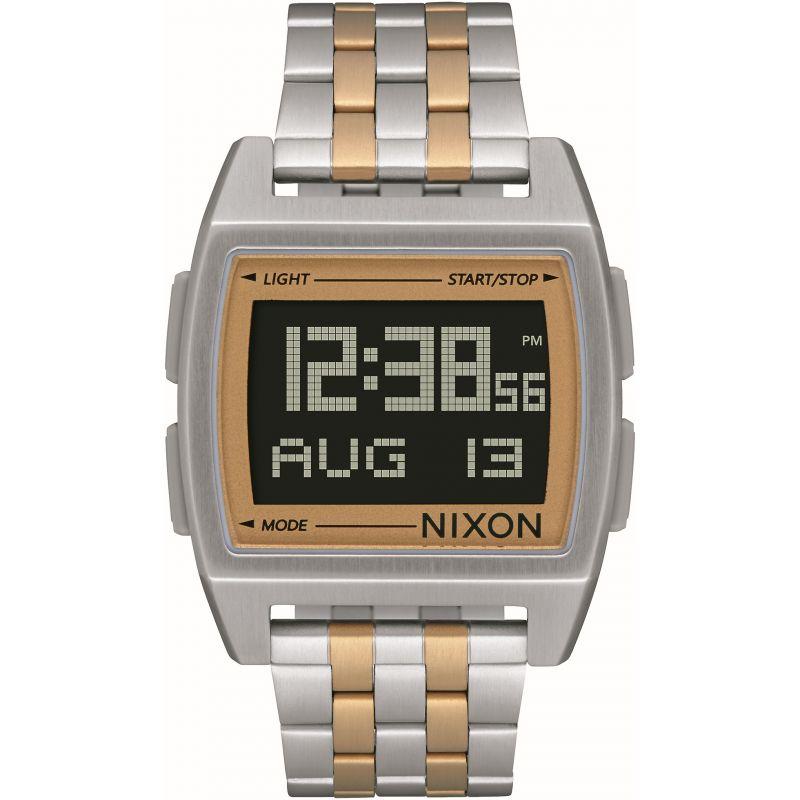 Mens Nixon The Base Alarm Chronograph Watch