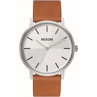 Unisex Nixon The Porter Leather Watch A1058-2853