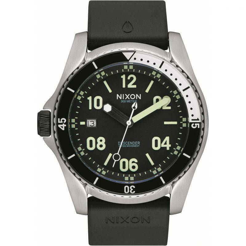 Mens Nixon The Descender Sport Watch
