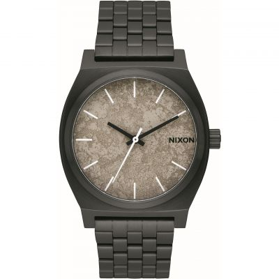 Nixon The Time Teller Unisexklocka Svart A045-2687