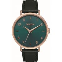 Ladies Nixon The Arrow Leather Watch A1091-2805