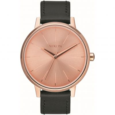 Unisex Nixon The Kensington Leather Pack Watch A1190-2780