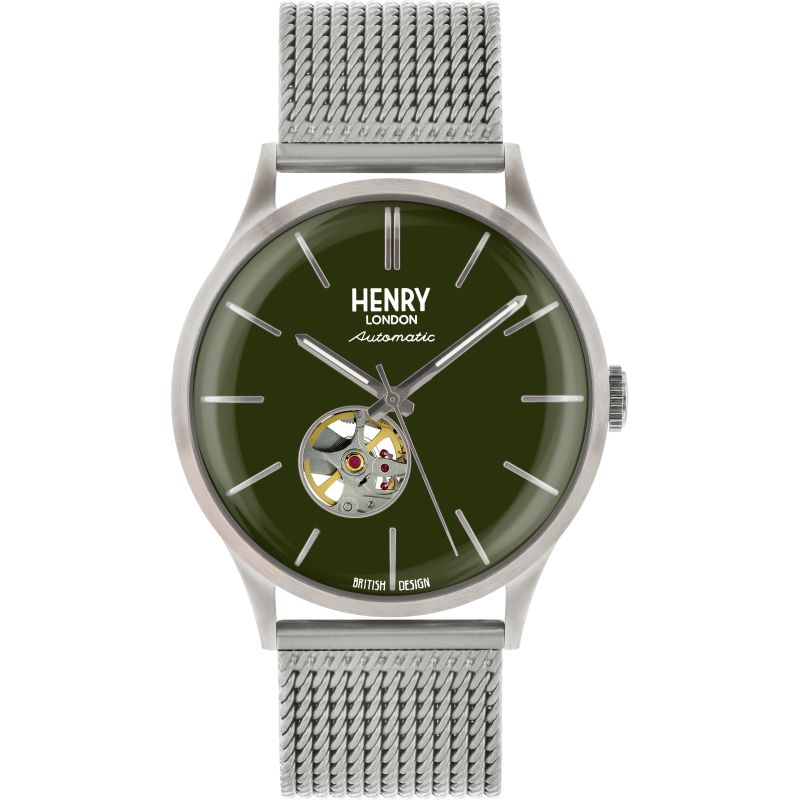 Mens Henry London Heritage Automatic Watch HL42-AM-0283